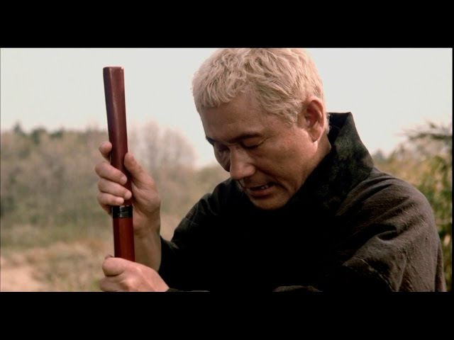 фрагмент из фильма Затоiчи - Посох (rus субтитр)