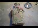Декор бутылки в стиле шебби шик Мастер класс