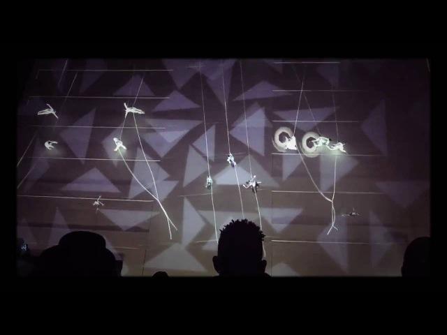 SF Public Canvas: 3D Projection Mapping meets Ballet meets Rappelling (World Premiere)