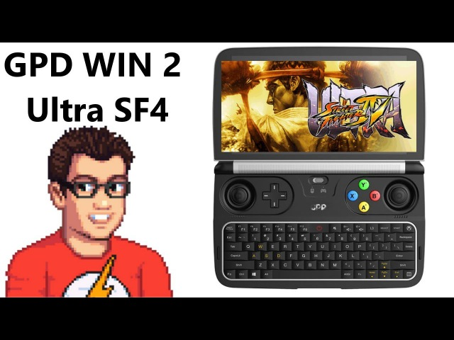 GPD Win 2 - Ultra Street fighter 4 - This Dpad is actually AMAZING!