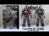 Fallout T-60 power armor figures by Threezero - Exclusive Atom Cats &amp regular - Unboxing &amp Review