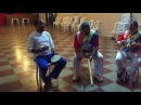 Capoeira Meia Lua Tiguera: Mestre Polêmico, Antônio Carlos, Salete, Angélica, Carol, Luiza. 16out17