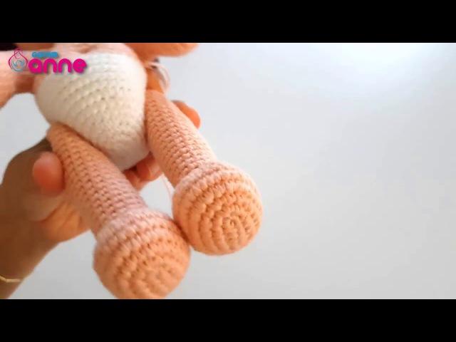 Amigurumi free pattern doll. Örgü oyuncak emzikli bebek yapılışı