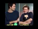 На сколько Томас и Дилан знаю друг друга?/Русские субтитры