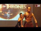 GAME OF THRONES show Morenasso & Anais ROMA KIZOMBA FESTIVAL