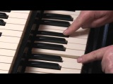 LESSON 2 - HOW TO PLAY JAZZ &amp ROCK LICKS ON A HAMMOND B3 or C3 ORGAN