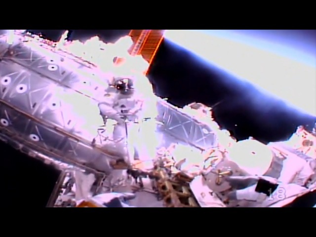Several UFO's Seen During Spacewalk At The I.S.S. On January 23rd. (UFO News)