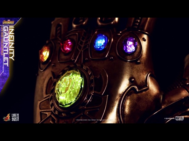 Hot Toys – Avengers: Infinity War - Infinity Gauntlet Life-Size Collectible