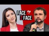 FACE 2 FACE з Тетяною Даниленко Володимир Вятрович, директор нституту нацональн ...