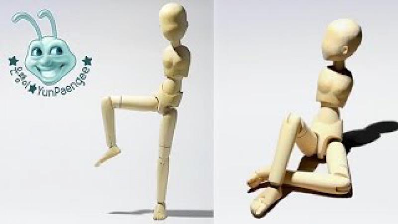 나무구체관절 인형 만들기 1 wooden ball jointed doll 1