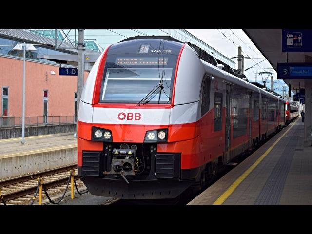 ÖBB cityjet in Linz Hbf