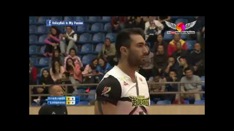 Shenzhen (四川 ) vs Sichuan (深圳 ) | 09-11-2017 | Chinese Men's volleyball super league 2017/2018