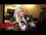 #video@alexablissdaily | Bliss shows no fear heading into the first Women's Elimination Chamber: Raw Fallout, Jan. 29, 2018