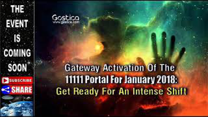 Gateway Activation Of The 11111 Portal For January