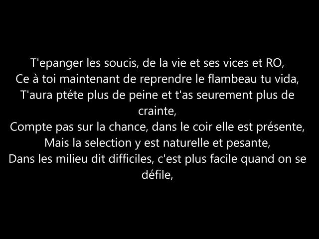 Nach - La Voz de los Grandes (con Faf Larage) - Letra
