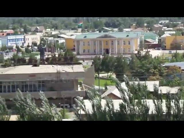 Видео с экстремального полета , Пролетарский район , 2017 год , Таджикистан !