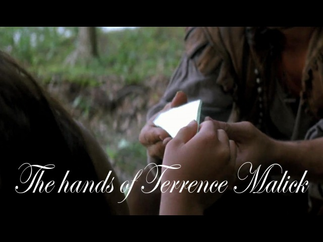 The hands of Terrence Malick