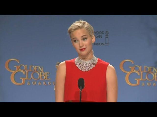 Here's Jennifer Lawrence's Full Interaction With That Reporter in the Golden Globes Press Room