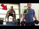 Tony Ferguson vs Khabib STRENGTH Training Side By Side!-UFC 223