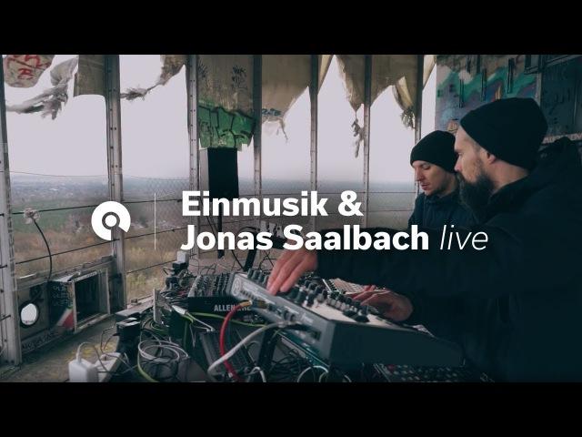 Einmusik Jonas Saalbach (Live) @ Teufelsberg, Berlin