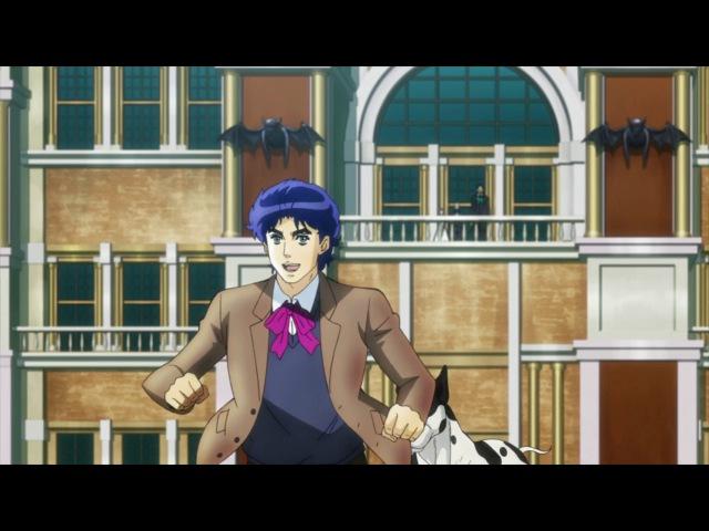 [AniDub] 01 серия - Невероятные приключения Джоджо ТВ-1 / JoJo no Kimyou na Bouken