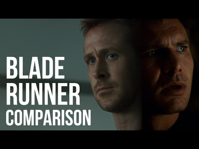 Blade Runner 2049 Side By Side the Original - Visual Comparison