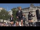 K-Pop band F(x) performing Rum Pum Pum Pum at the London Korean Festival 2015 런던 한인 축제 Part 7