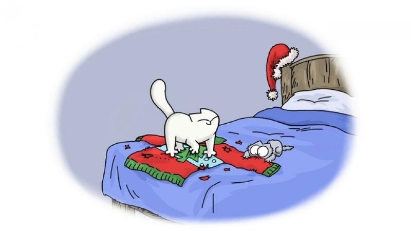 Кот Саймона • Рождественские приятности