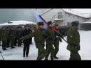В Ханты-Мансийске приняли присягу 9 девушек-новобранцев