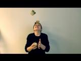 Жонглируем медом с клюквой:)
