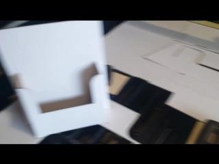 изготовление POS коробок из беленого гофрированного картона