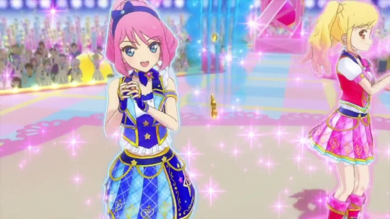 Aikatsu Stars! _ Айкацу Звёзды! - 71 серия - STARDOM - Nijino Yume Sakuraba Rola