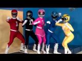 Mighty Muffin Pounder Rangers (Могучие РейнджерыPower Rangers XXX Порно Пародия) (Cindy Starfall, Nickey Huntsman)