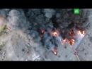 Невероятный пожар на рынке «Синдика»