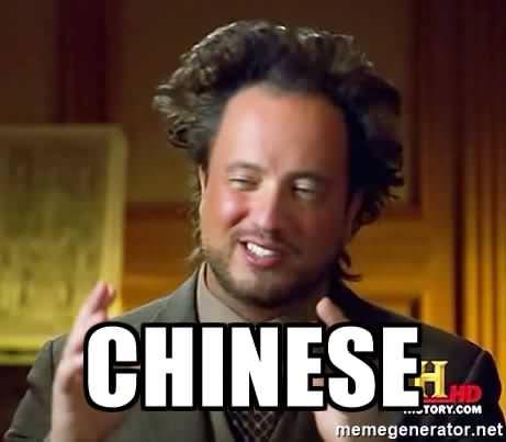Когда кому-то пытаешься объяснить, что иероглиф — это не целое предложение