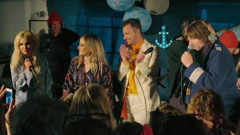 Ebbot, Rebecca Fiona, Hurula och Ola Salo–Video Killed The Radio Star.(Ebbots Ark 15.10.2017.)