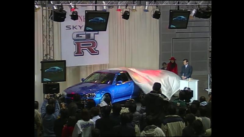 R34 GT Rデビュー 土屋圭市 全開インプレッション Best MOTORing 1999