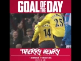 Goal of the Day: Thierry Henry