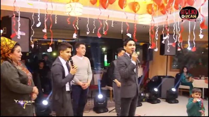 Yagshy Goshunow Myrat Mollayew Arslan Gulmammedow - Degishme (Official Video) HD 2017
