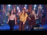 Группа SEREBRO спела песню «Девочка-мечта» на шоу «Однажды в России»