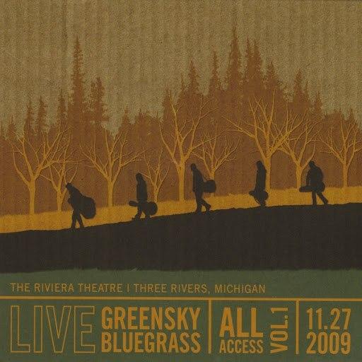 Greensky Bluegrass альбом All Access (Vol. 1)