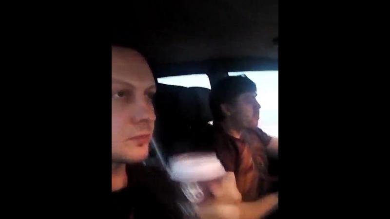 Кавер-бэнд JACKPOT в дороге