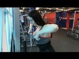 Тренировка плеч и груди