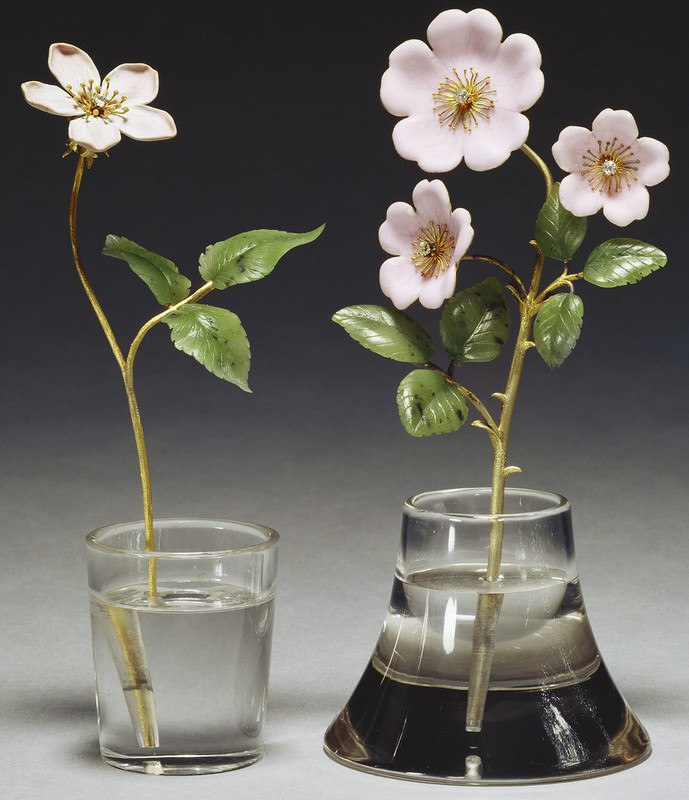 цветы и ягоды фаберже