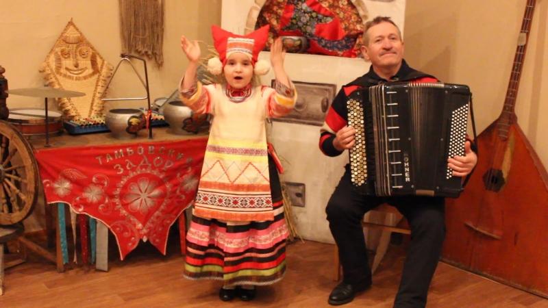 Тимохина Соня (г.Тамбов, 5лет) Страдания из репертуара М.Мордасовой
