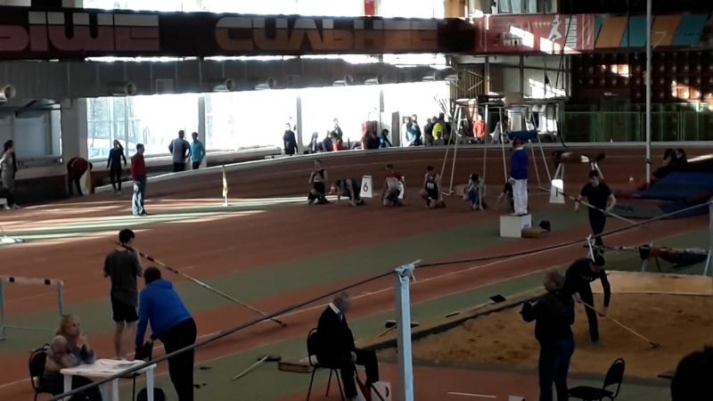 Чемпионат Челябинской области. 7 февраля 2018. 60м. Финал. Мужчины.