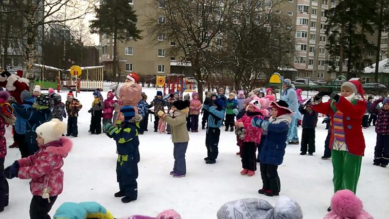 Спортивный праздник зима 2018