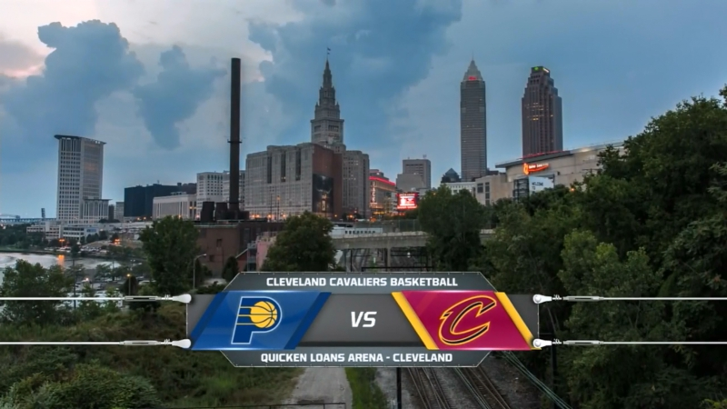 Cleveland Cavaliers vs Indiana Pacers on Quicken Loans Arena 06.10.2017