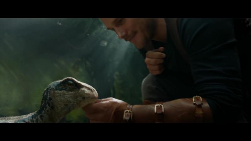 Мир Юрского периода 2 (Jurassic World: Fallen Kingdom) - второй дублированный трейлер (2018)