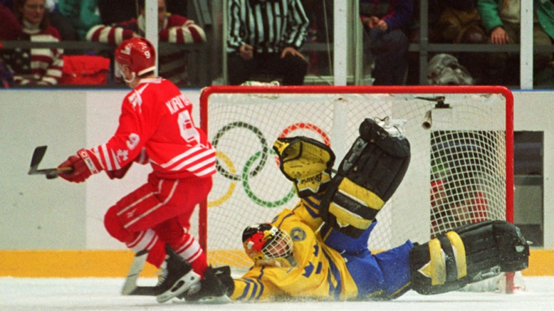 Лиллехаммер 1994. Финал. Швеция - Канада (27.02.1994)